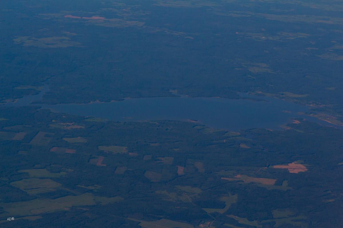 Авиаперелет Женева-Москва - 3-й час полета