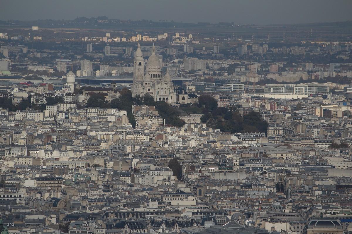 Париж 2018 - Виды с башни Монпарнас, крупные планы