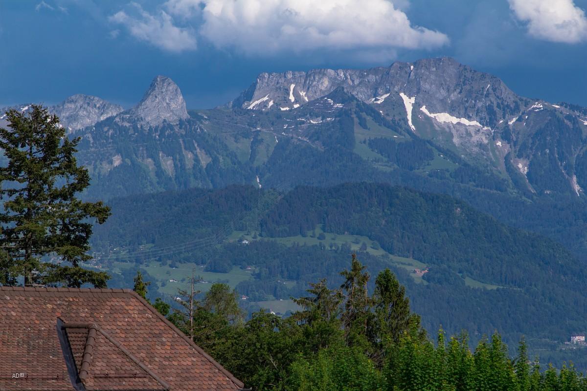 Женева - Веве, Альпы крупным планом
