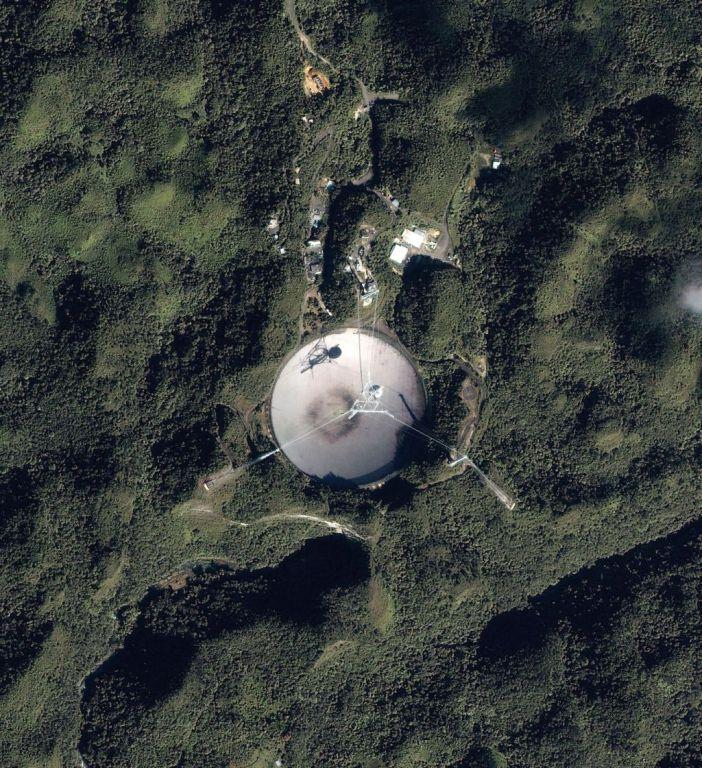 Радиотелескоп Аресибо)