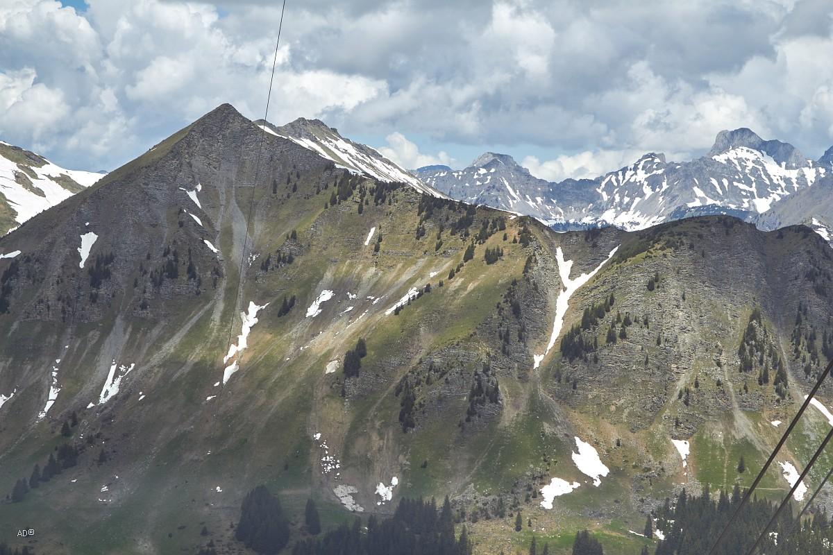 Женева - Се Руж (Peak Walk - Прогулка по пикам) - подъем