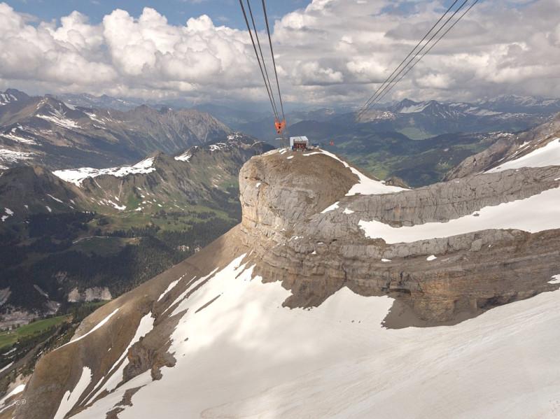 Женева - Се Руж (Peak Walk - Прогулка по пикам) - спуск