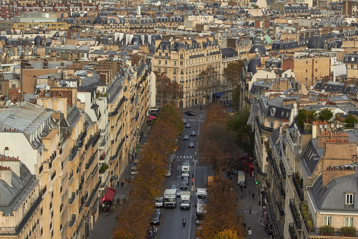 Париж 2018 - Виды с Триумфальной арки