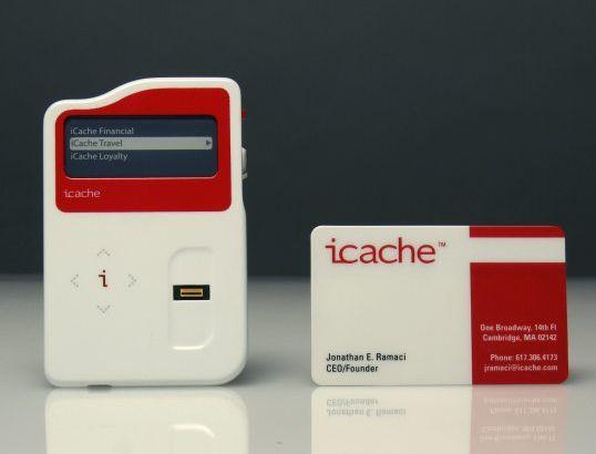 iCache - универсальный девайс для всех ваших кредиток