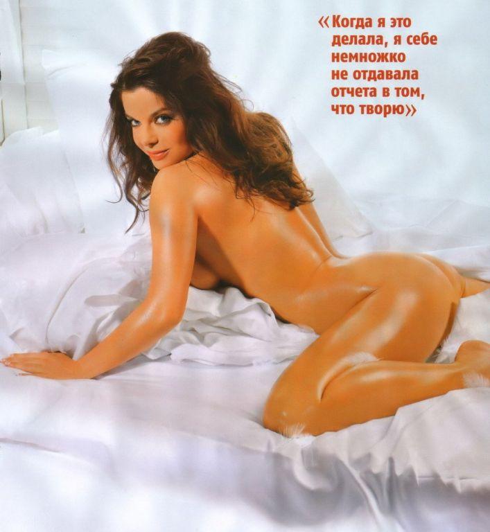 Наташа Королева разделась для февральского номера популярного мужского журнала Махim