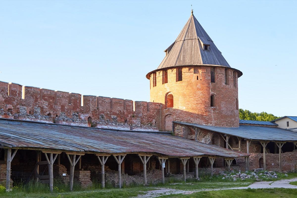 Фёдоровская башня, Новгородский детинец, XV век