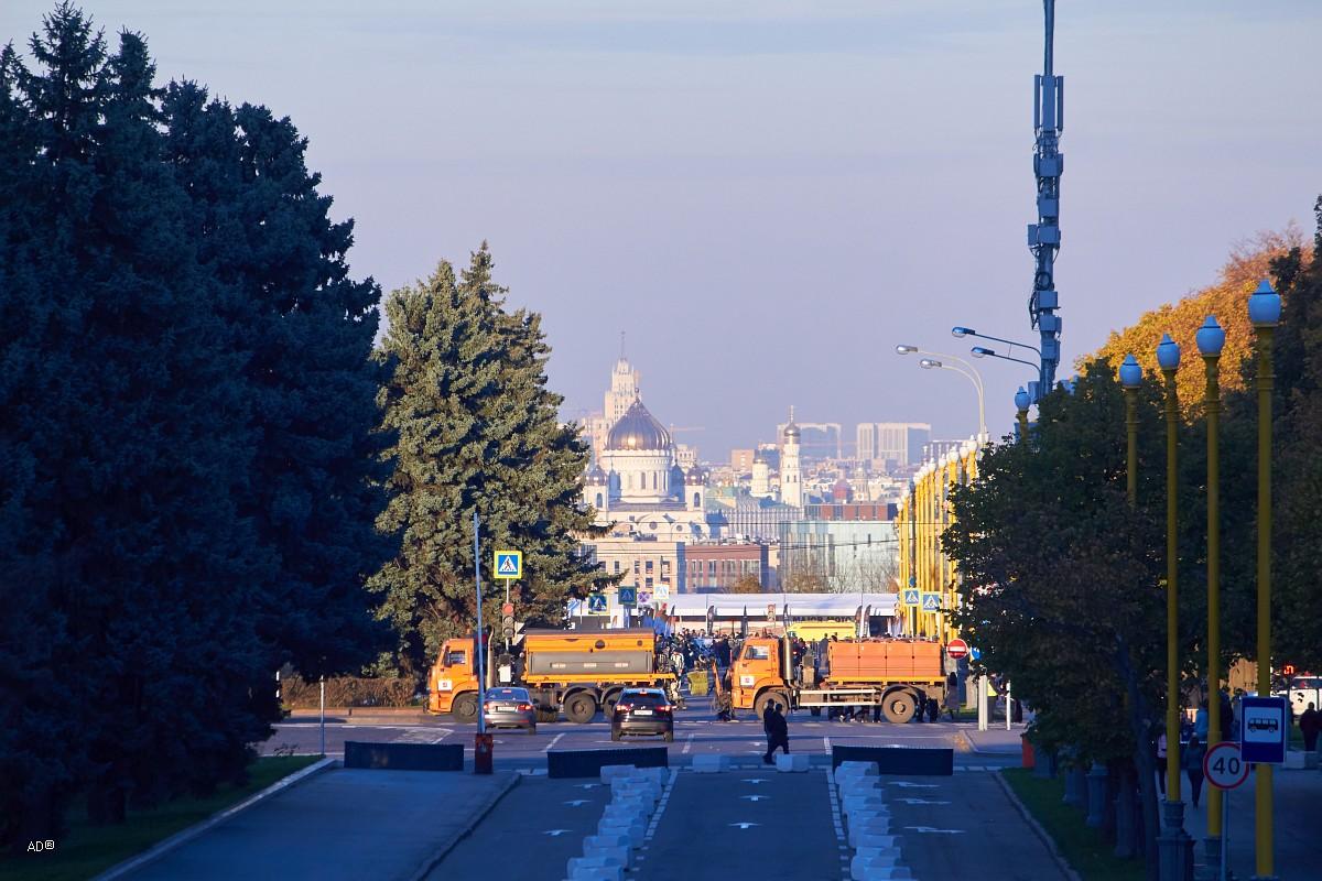 Осенние московские мотивы