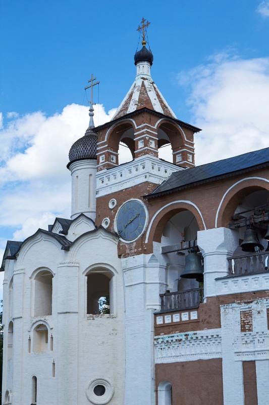 Звонница Спасо-Евфимиевского монастыря в Суздале
