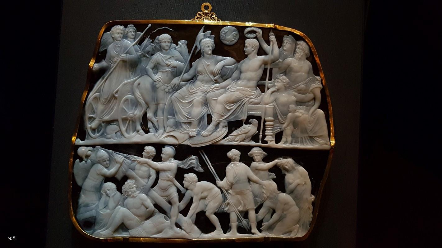 Вена - Музей истории искусств, античное собрание