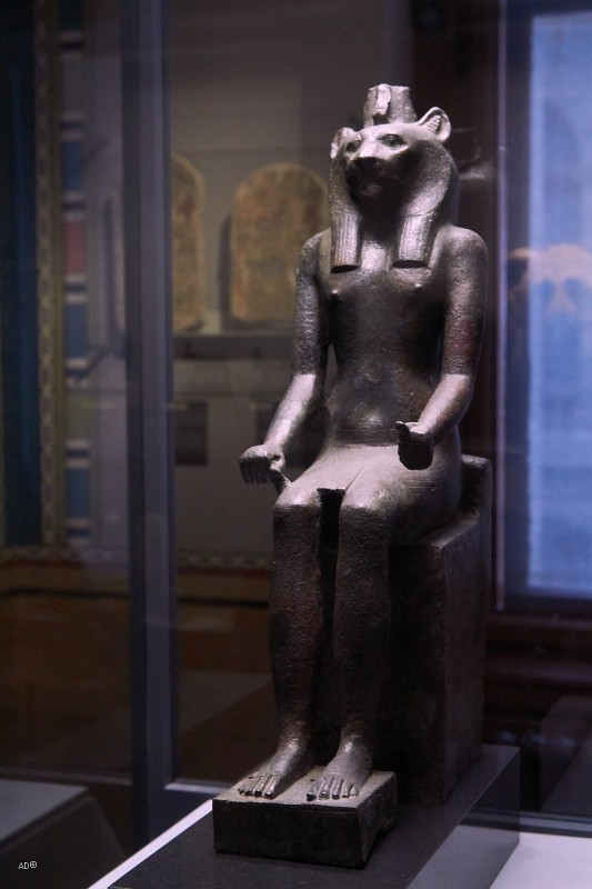 Статуя богини Мут-Сохмет,  Древний Египет, XIV в. до н.э.