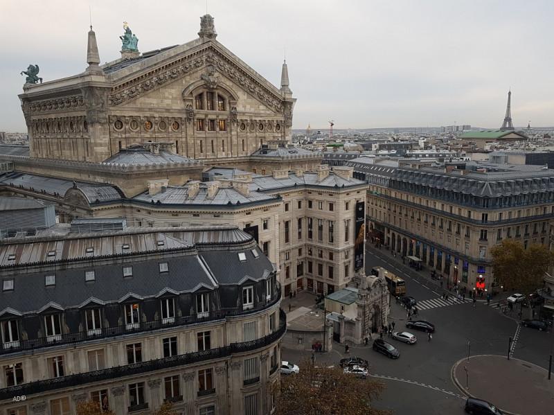 Париж 2018 - Виды Парижа с Галереи Лафайет