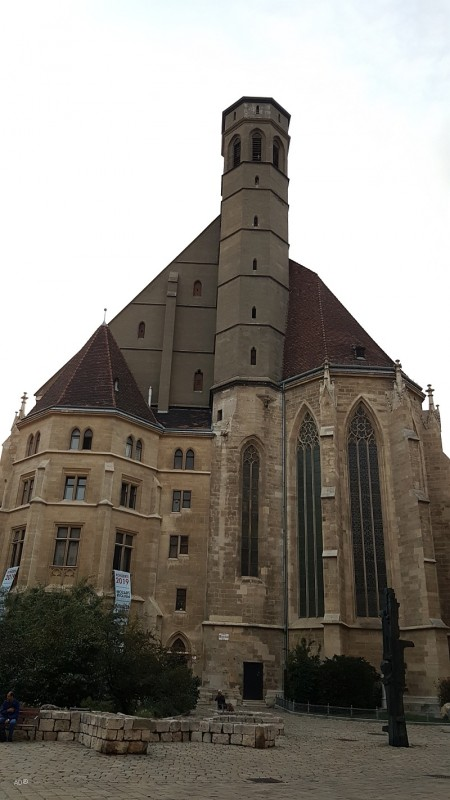 Вена, церкви - Шотландский монастырь и Церковь Миноритов
