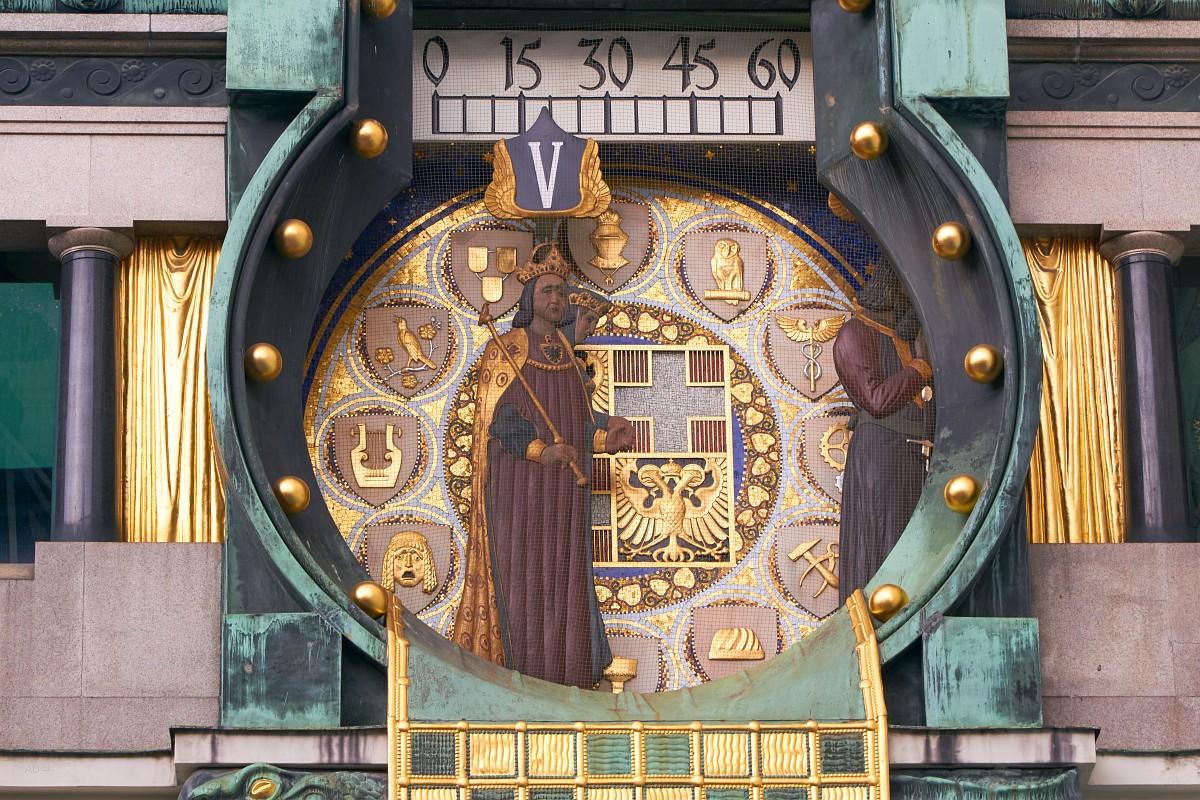 Часы Анкер, Вена, Рудольф I