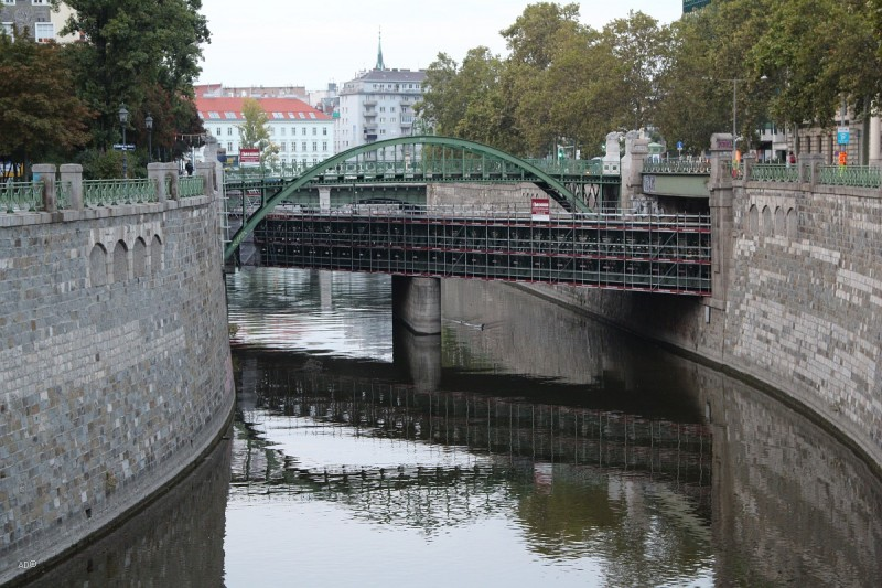 Таможенный мост (Zollamtssteg), Вена