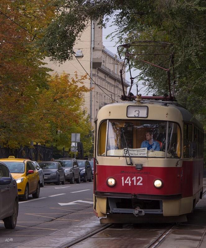трамвай номер 3