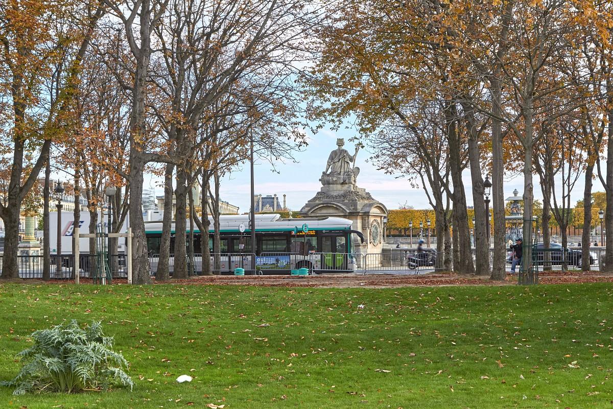 Париж 2018 - Площадь Согласия