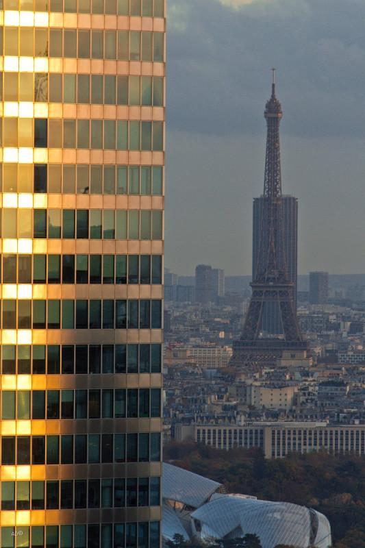 Париж 2018 - Ла-Дефанс, крупные планы