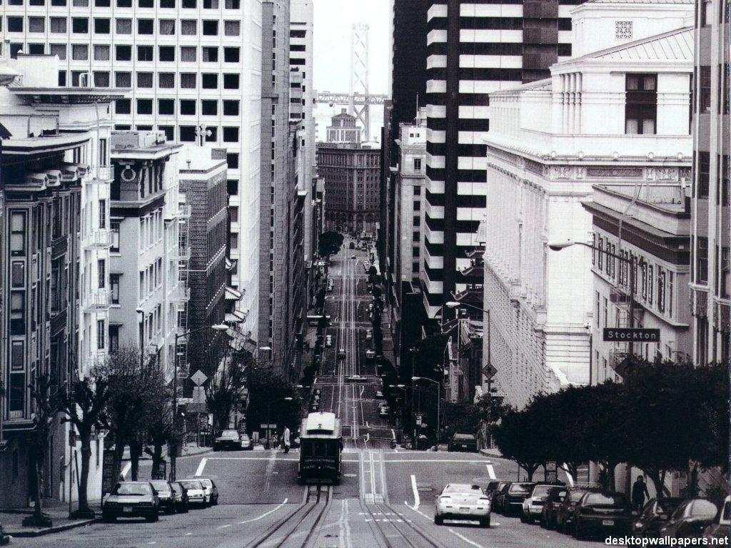 San Francisco - Cable Car at California Street