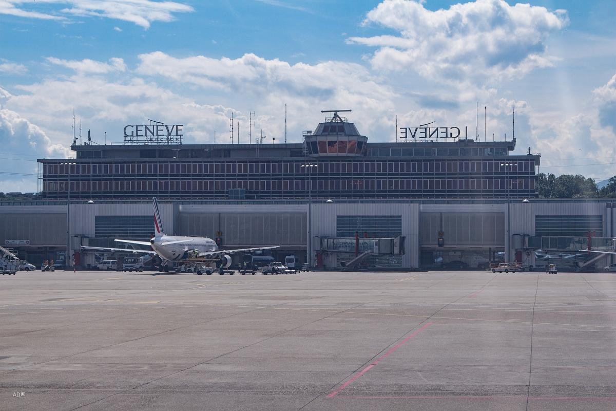 Женева - Авиаперелет