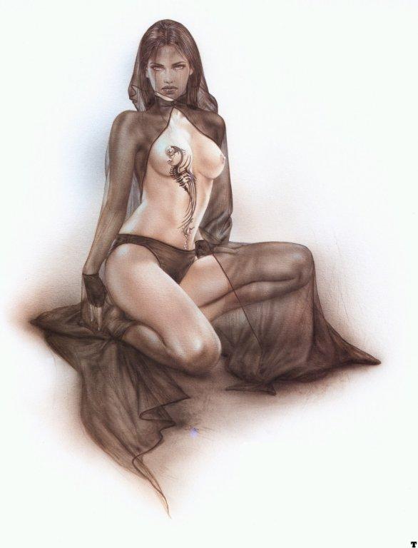 дракончик от Luis Royo