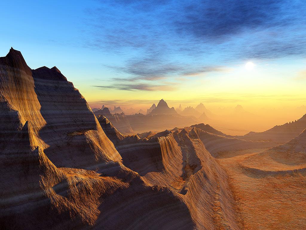 desert spires