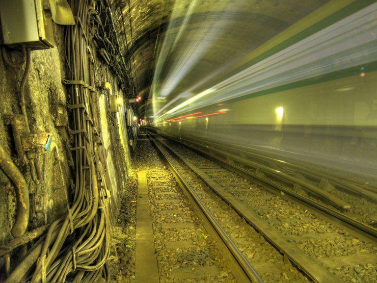 фантомы в метро