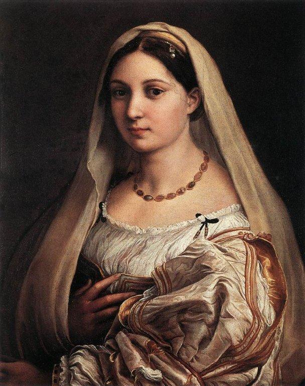Raffaello - Woman with a Veil