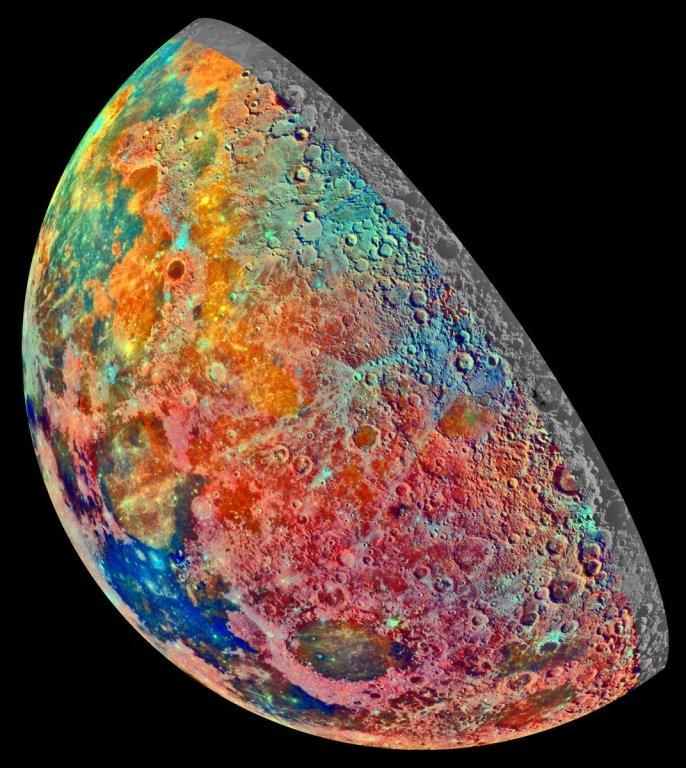 минералы на луне