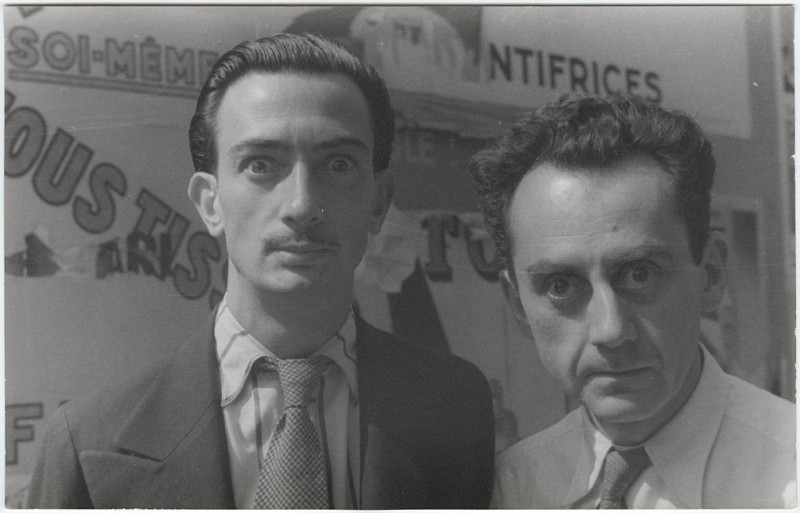 Man Ray and Salvador Dali