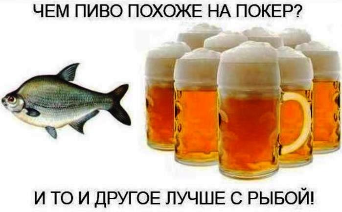 Рыба без пива - деньги на ветер!