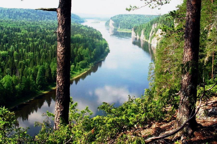Пермский край, река Вишера