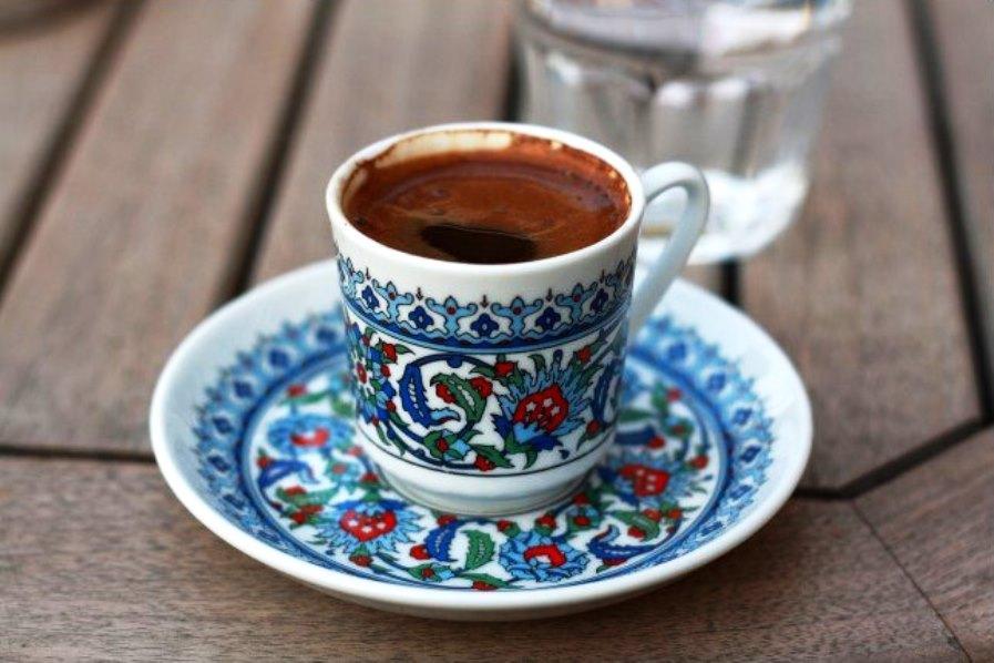 Турецкий кофе с чесноком и медом