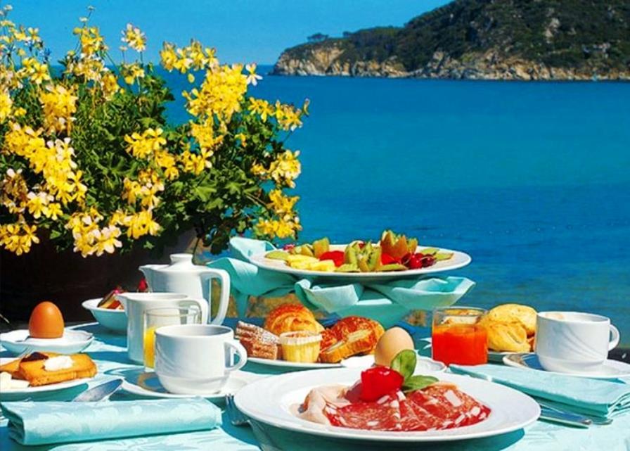 Открытка, открытки доброе утро море горы