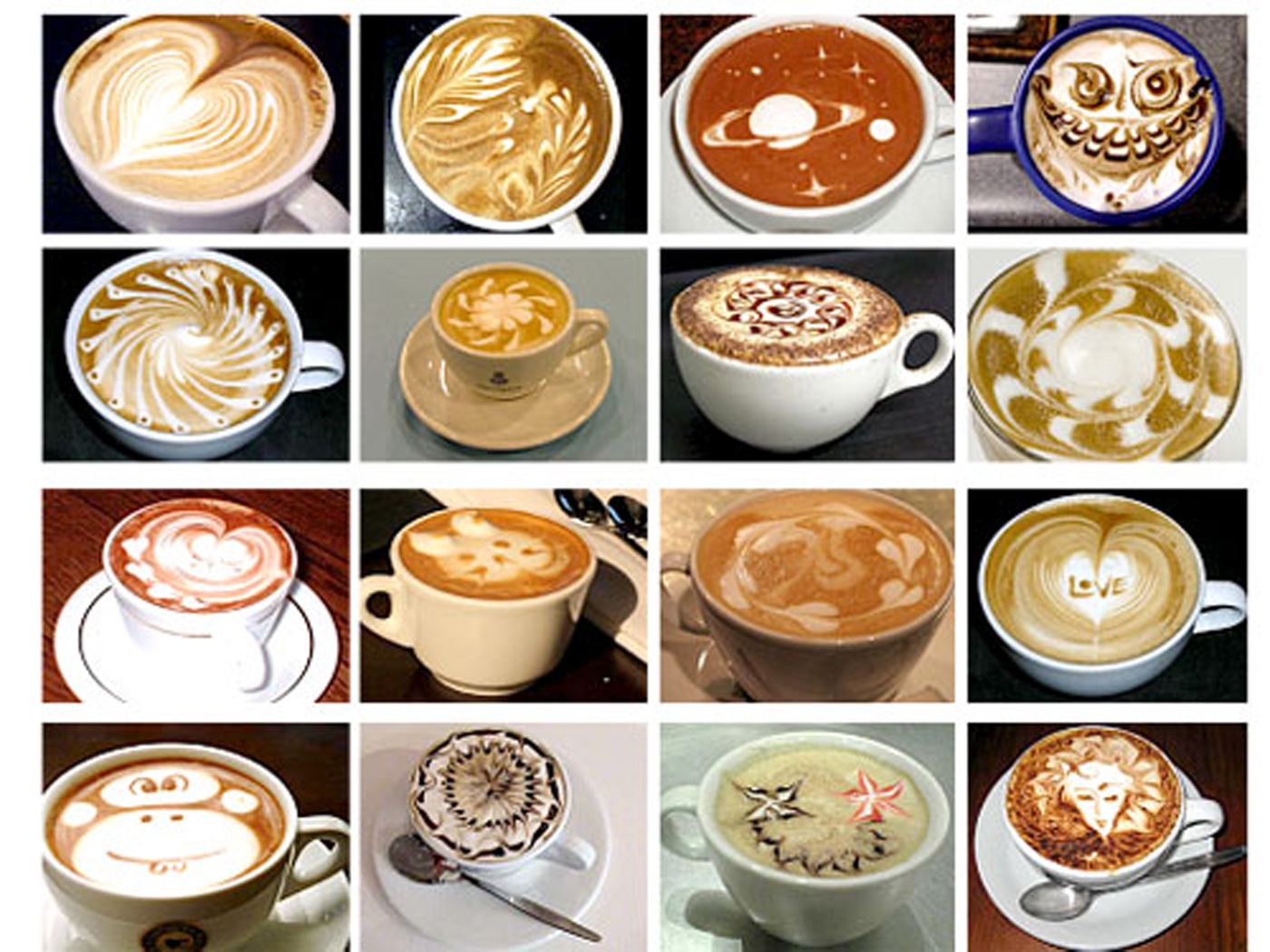кофе рисунки 2