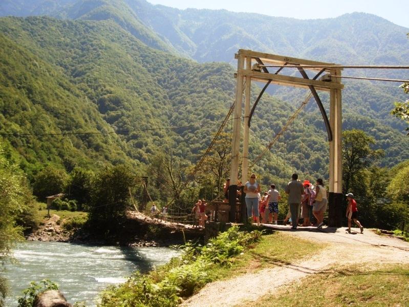дорога на озеро Рица  (3)