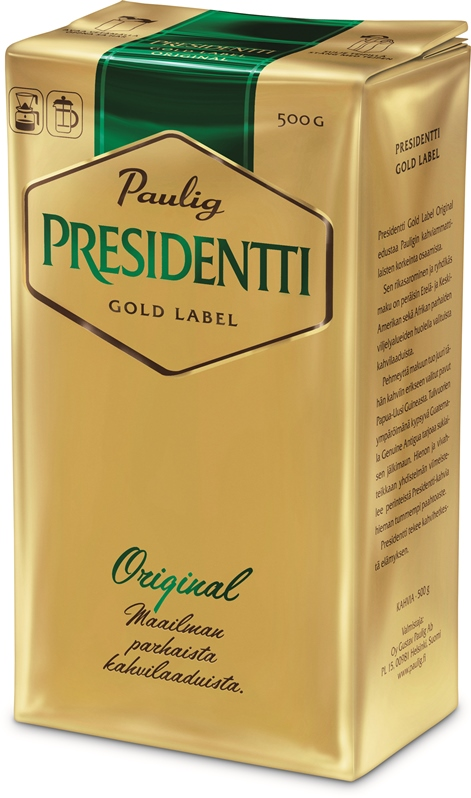 8 - Presidentti Gold Label