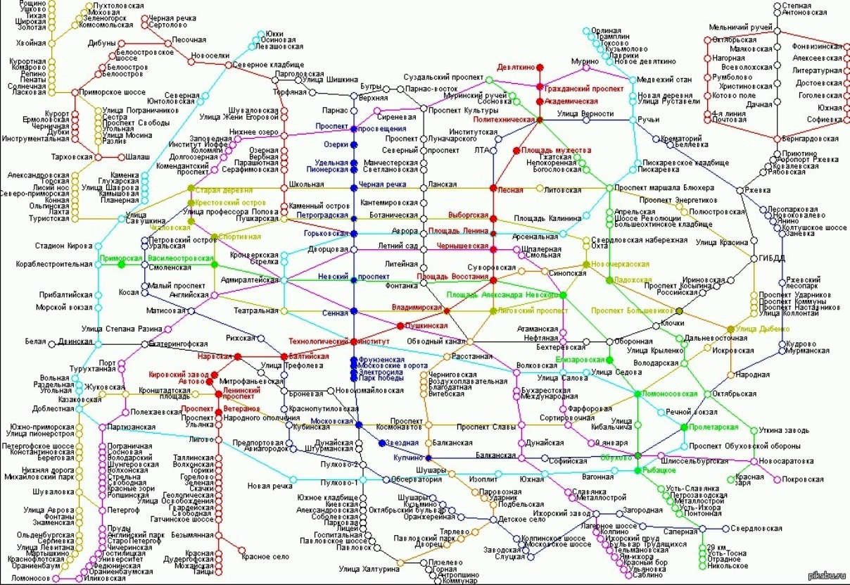 метро СПб через 30 лет