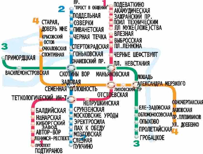 метро СПб  (3)