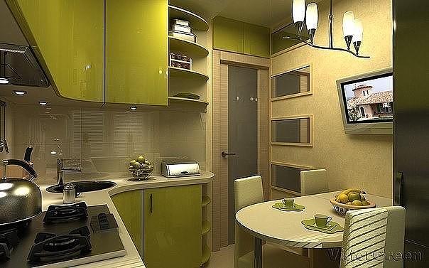 кухня 6м2 1