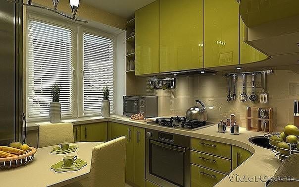 кухня 6м2 2