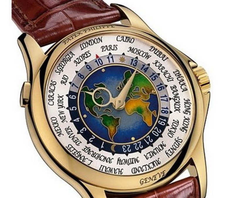 Patek Philippe Platinum World Time - $4 миллиона