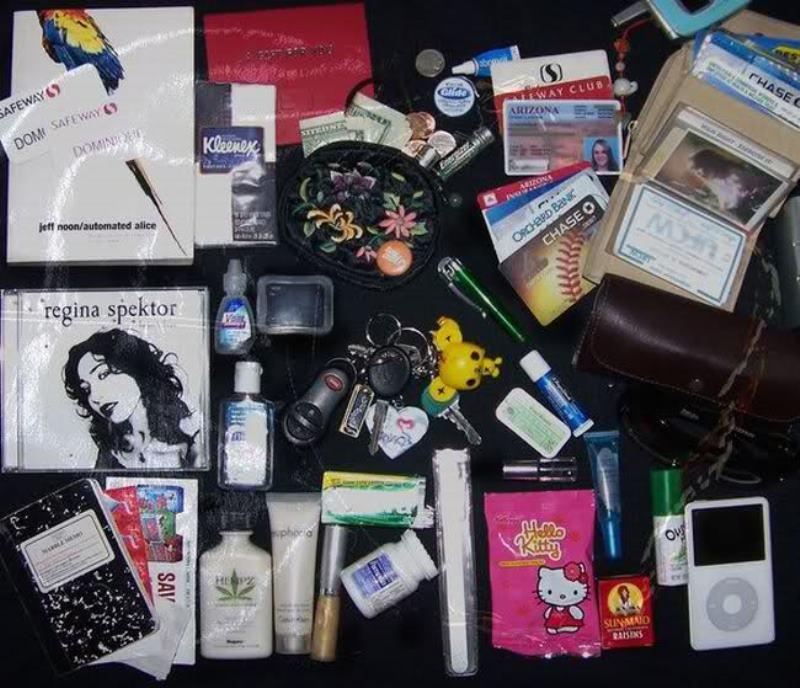 женская сумка содержимое (5)