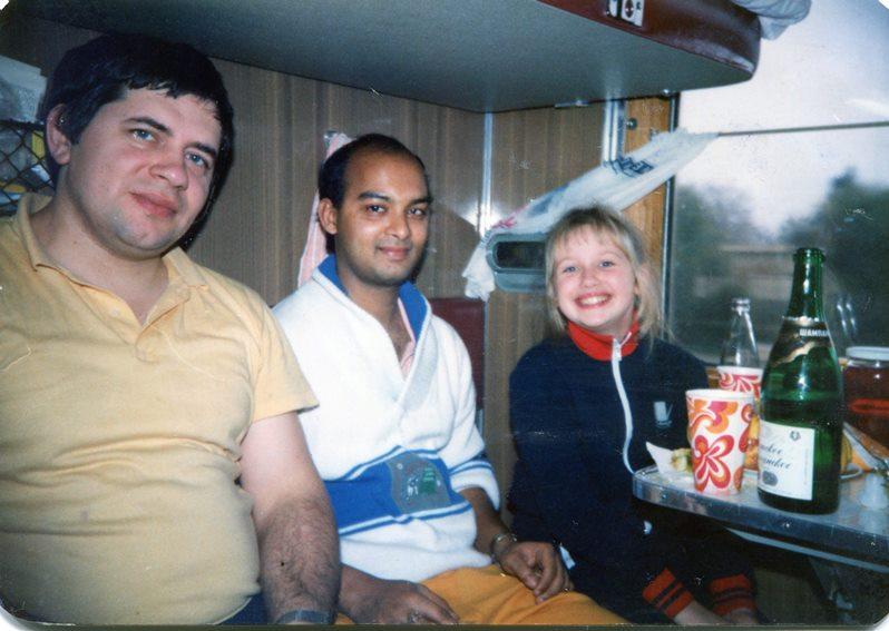 1989 10 поезд Ленинград - София
