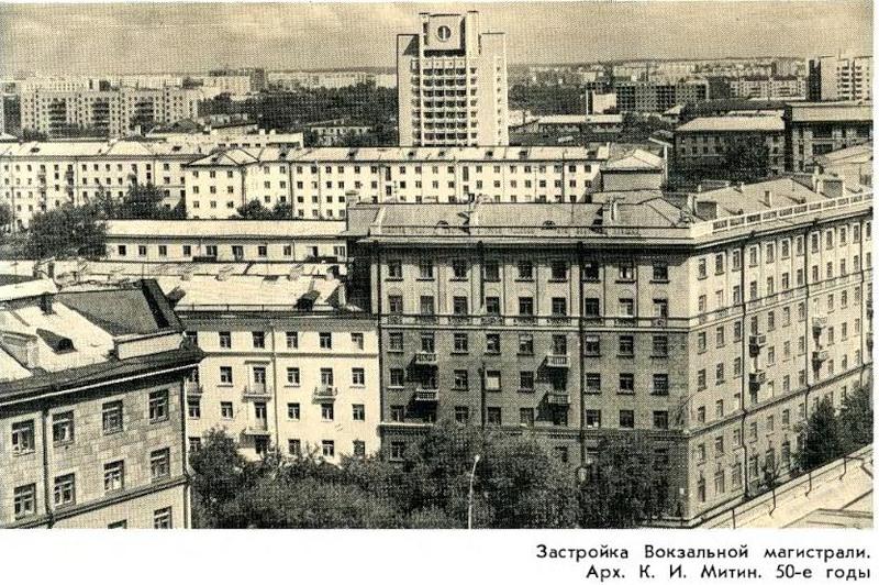 Вокзалка, пересечение с Советской, 1970-е