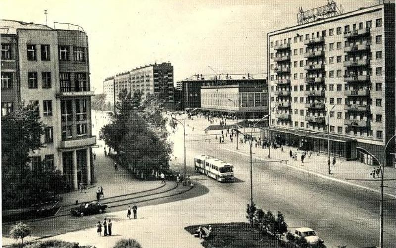 Вокзалка, пересечение с Урицкого, 1970-е
