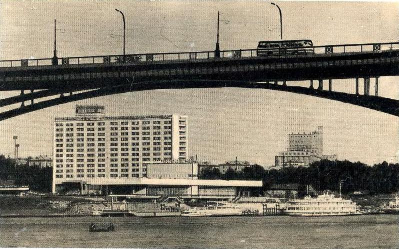 Речной вокзал, 70-е