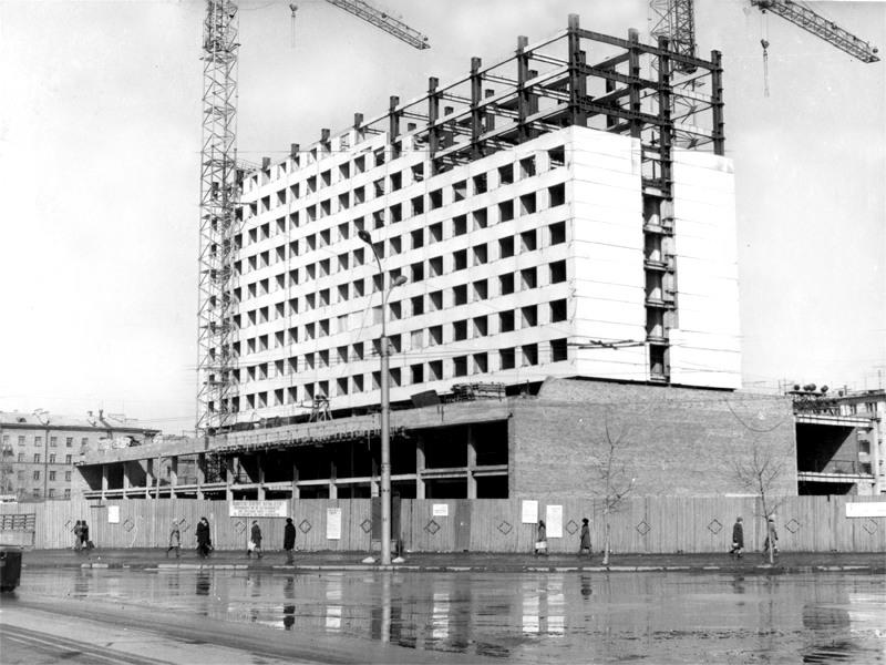 Строительство гостиницы Новосибирск