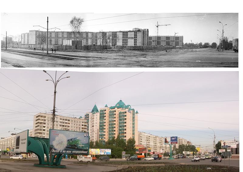 Строительство Челюскинского жилмассива