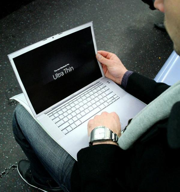 Ультратонкий ноутбук от Apple