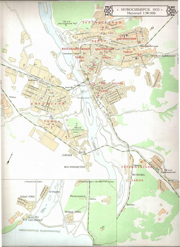 Секс карта города новосибирск